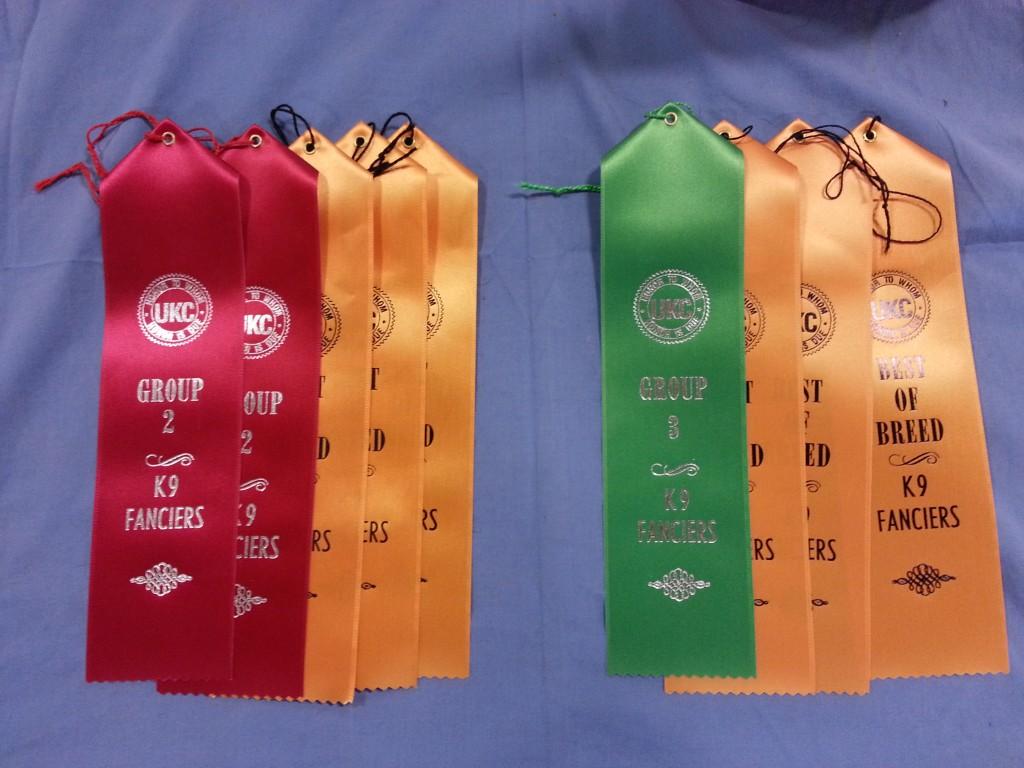 Win ribbons