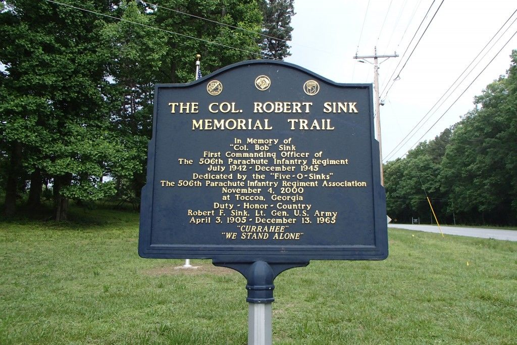 Col. Robert Sink Memorial Trail